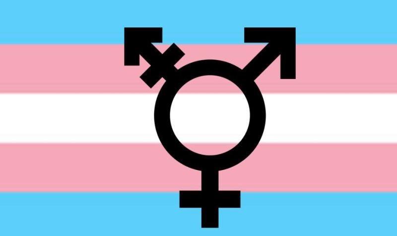 跨性別者使用這個標誌當他們的旗幟。(sites.psu.edu )