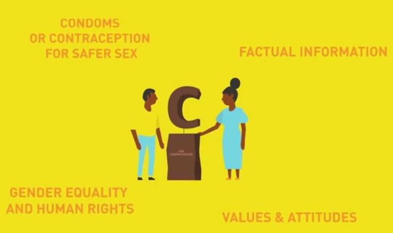 護家陣營打出廣告,質疑包羅萬象性教育有迷思,因它鼓勵青年用保險套和避孕丸,確保性行為的安全。(照片來源:youtube.com)