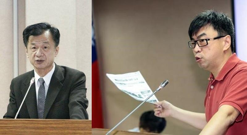 左圖為法務部長邱太三,右圖立委段宜康