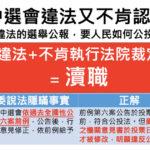中選會違法不遵守法院裁定還硬拗 幸福盟向監察院舉發陳英鈐主委凟職